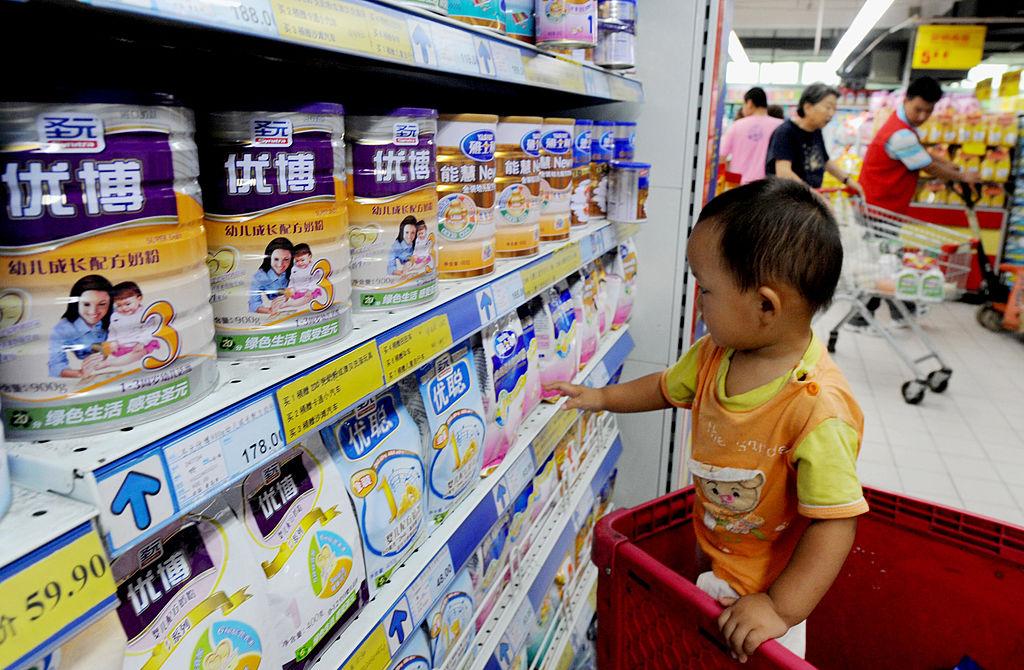 中共5月31日宣佈「三孩生育政策」,引發中國民眾熱議。(Photo credit should read STR/AFP via Getty Images)