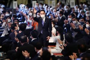 岸田文雄當選自民黨總裁 將成日本首相