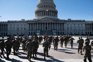 五角大樓:國民警衛隊將留守國會大廈至5月
