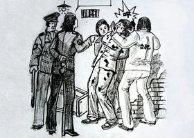 冤獄半年 湖北法輪功學員王瓊兩肋骨被砍斷