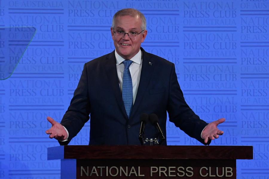 澳總理發佈新年度政策 抗疫與恢復經濟為首