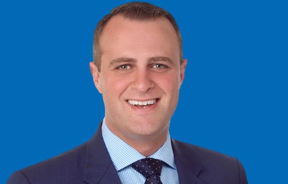 圖為代表墨爾本Goldstein選區的聯邦自由黨議員威爾森(Tim Wilson)。(vic.liberal.org.au)