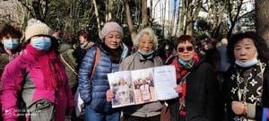 九十歲訪民上海市政府維權 被十餘警察帶走
