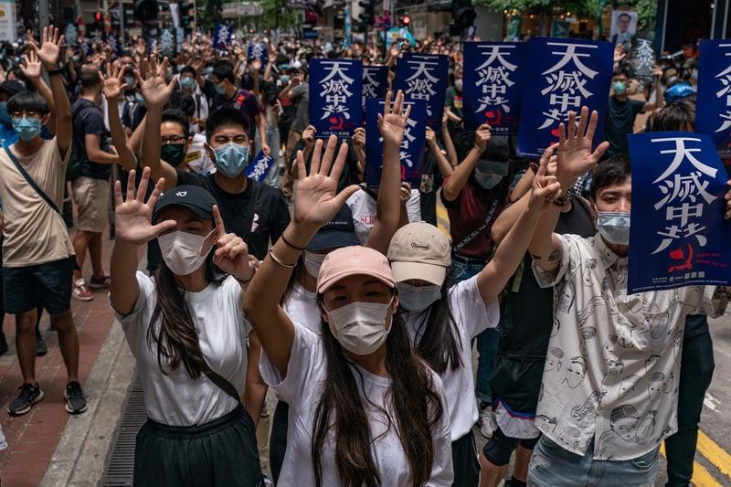 北京推港版國安法 印度專家籲各國發聲反對