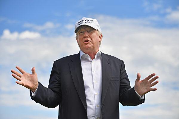美國當選總統特朗普。(Jeff J Mitchell/Getty Images)