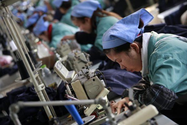 德國貿易信貸保險公司裕利安怡(Euler Hermes)預測,中國企業破產數將在2019年再增兩成。(AFP)