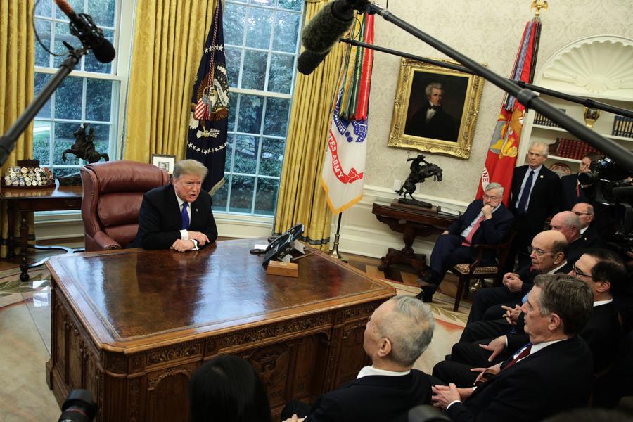 展現強力領導 特朗普改變中美貿易談判定位