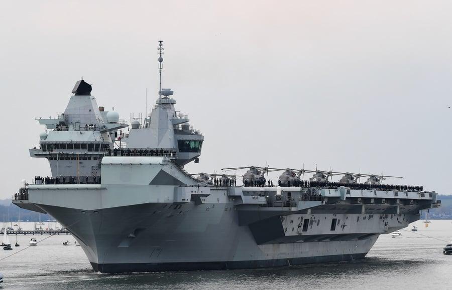 戰艦外交 英航母參加北約軍演 向中共釋信號