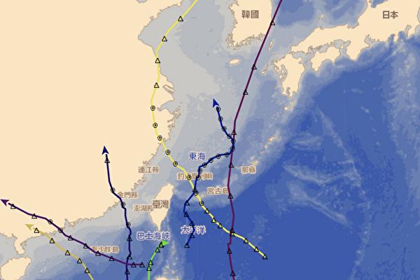 台灣有防護罩?今年八個颱風全都繞開