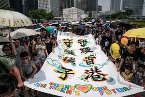 【8.10反送中】香港三代人齊上街 共同守護未來