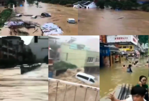 廣西學校被水淹 湖南貴州46縣市發生洪澇