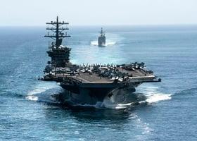對抗中共 美防長命尼米茲號航母轉戰印太