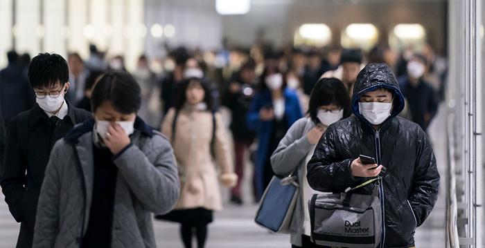 中共病毒疫情在全球爆發,2020年3月9日,法國媒體揭示中共的宣傳是為掩蓋真相。(Tomohiro Ohsumi/Getty Images)