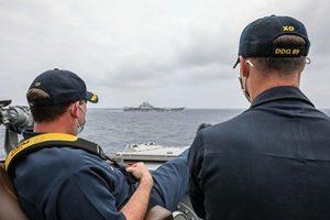 美軍近距監測遼寧艦 專家:美掌握共軍弱點