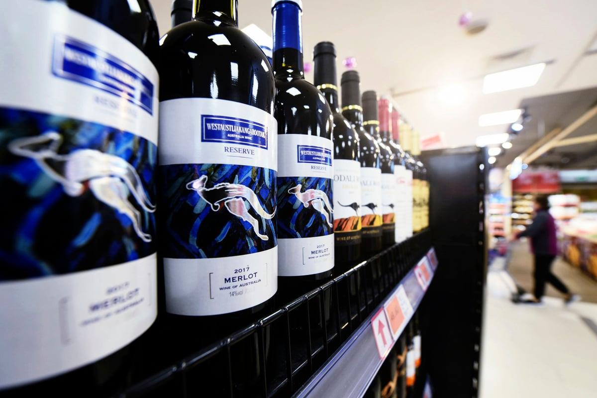 澳洲政府可能會在「幾周內」就中共對澳洲葡萄酒實施懲罰性關稅向世貿提起新的訴訟。(STR/AFP via Getty Images)
