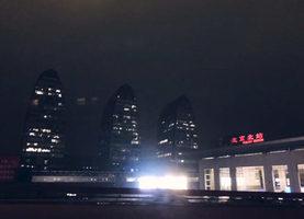 組圖:兩會開幕北京天空突變黑 民:天怒