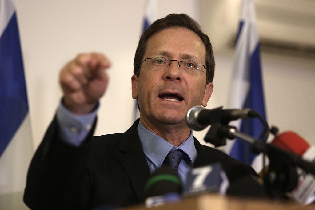 以色列前政治人物艾薩克‧赫爾佐格(Isaac Herzog)當選總統。圖為赫爾佐格資料照。(MENAHEM KAHANA/AFP via Getty Images)
