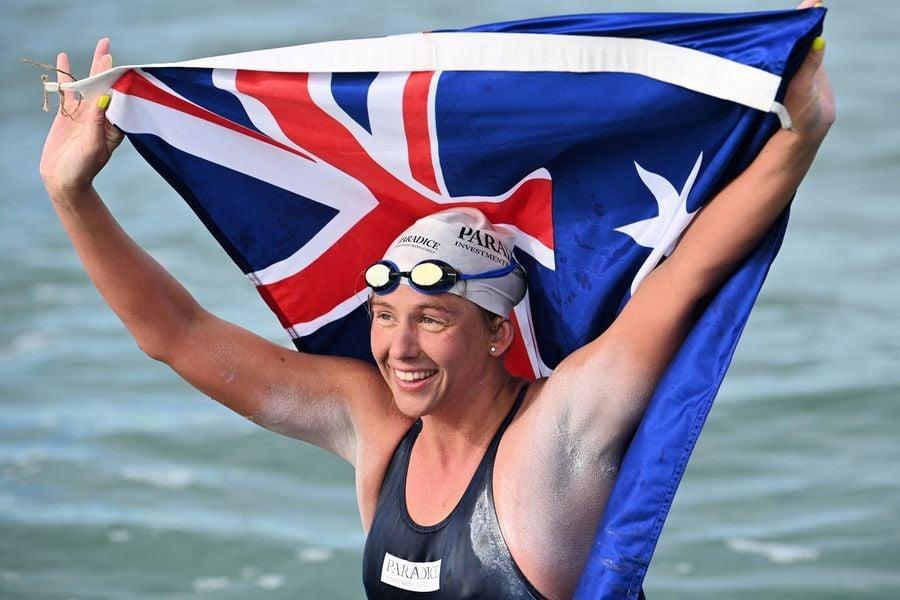 44次橫渡英倫海峽 澳洲女泳將創世界紀錄
