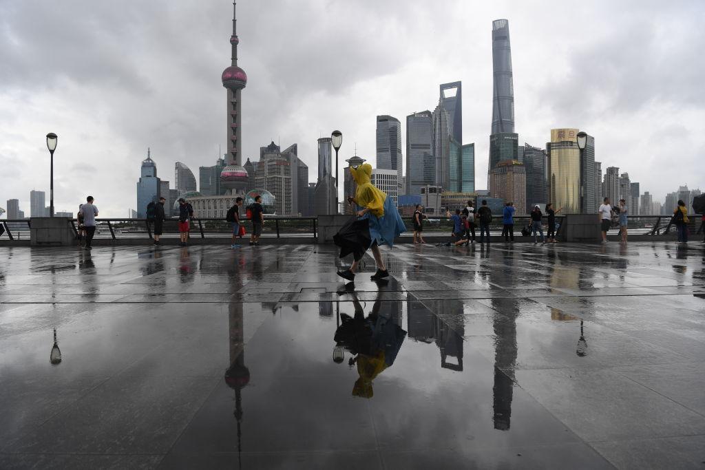 上海中心、東方明珠等旅遊景區宣佈從2020年3月30日起臨時關閉。(Getty Images)