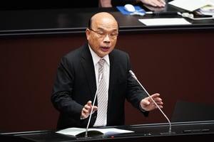逾百中國抽運砂船聚台外海 蘇貞昌:扣船嚴辦