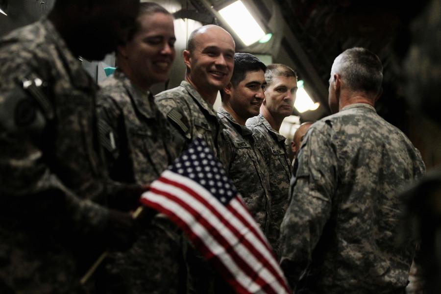 美國領導聯軍撤離伊拉克塔吉基地
