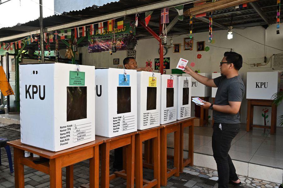 印尼大選現總統宣佈勝選 反對派不認同