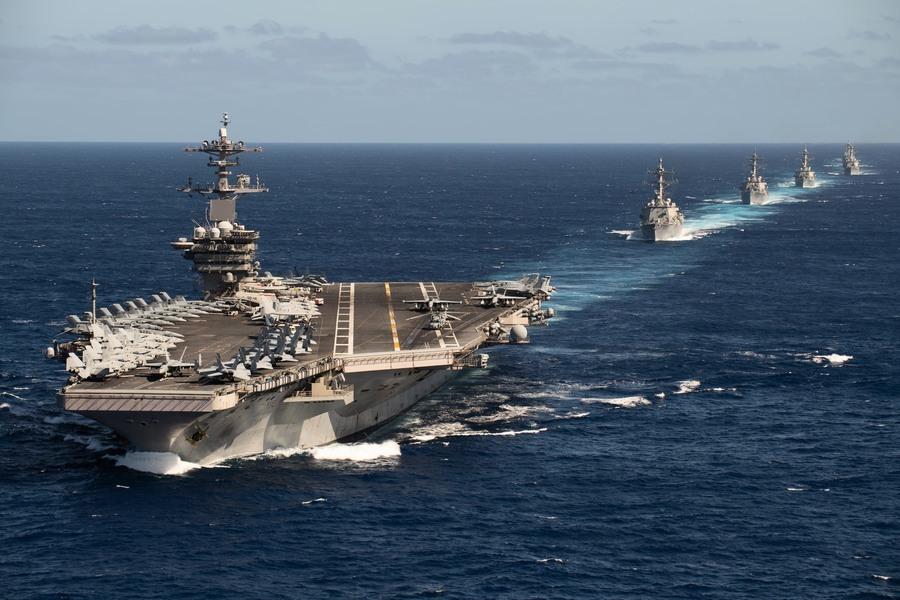 沈舟:羅斯福號航母或很快重返西太平洋