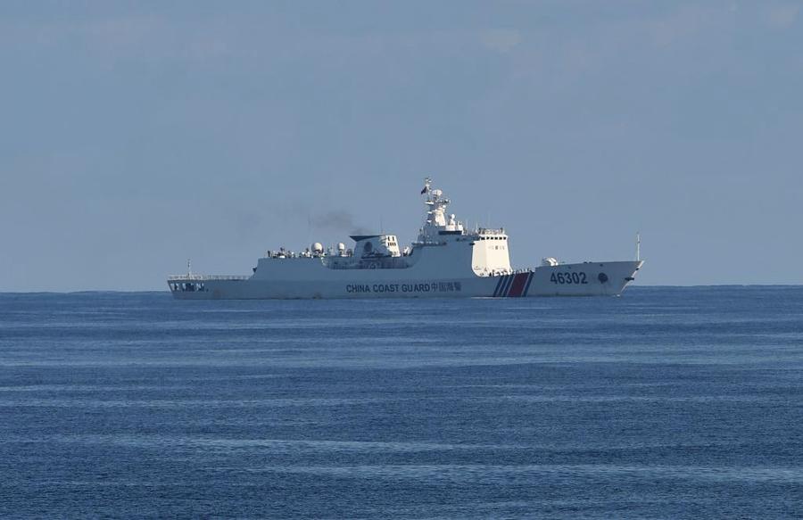 菲律賓稱二百多艘中國武裝漁船現爭議岩礁