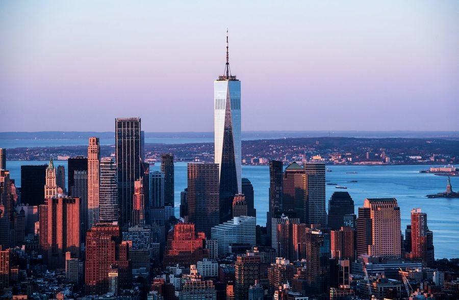 9.11後重建 紐約世貿一號樓入住率過九成