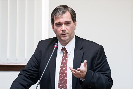 「醫生反對強摘器官組織」(簡稱DAFOH)行政總裁托斯坦‧特瑞(Torsten Trey)醫生。(陳柏州/大紀元)