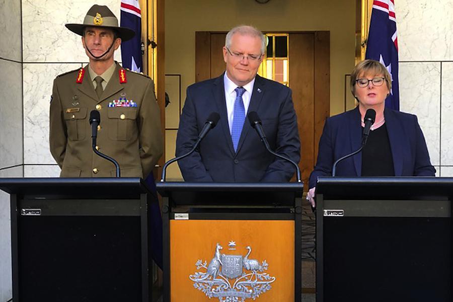 加入美國波斯灣護航聯盟 澳洲宣佈將派兵