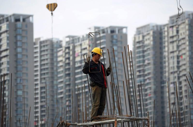 2018年8月,深圳推新房改,商品房將只佔四成,新模式救得了中國房市嗎?(AFP)
