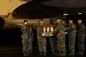 美少校在阿富汗犧牲前曾呼籲美國人去投票