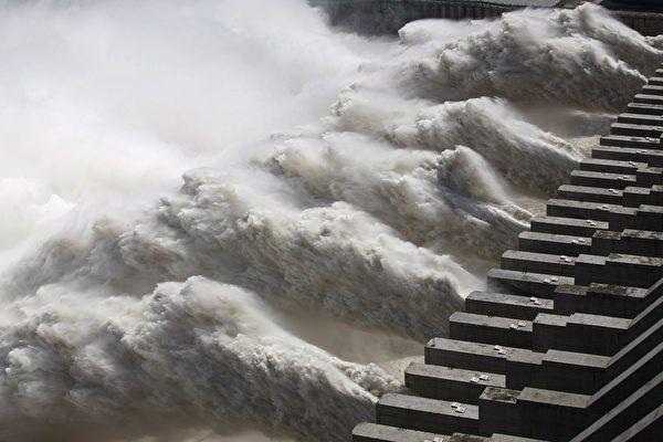 圖為2014年9月的三峽大壩。(STR / AFP)