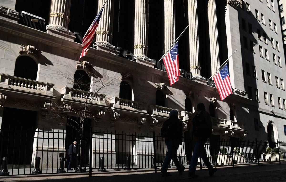 學者說,美國從2007年實施量化寬鬆後,美股就已經泡沫化。圖為紐約證交所。(ANGELA WEISS/AFP via Getty Images)