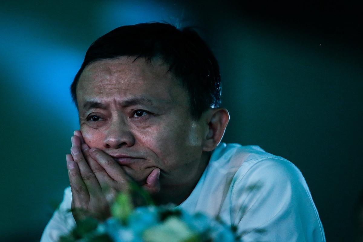 彭博指出,以馬雲(圖)和馬化騰為首的中國8大科技業大亨,今年以來已損失逾300億美元。(Getty Images)
