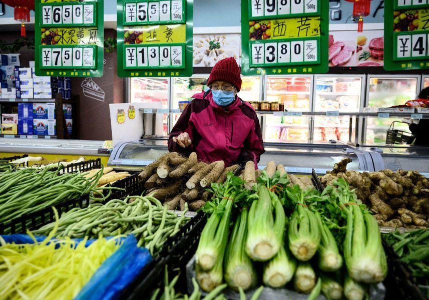 臨近黃曆新年 大陸食品價格同比環比均上漲