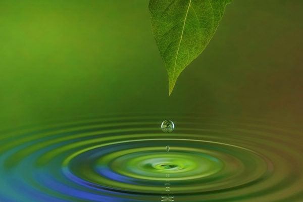 音流學研究被形容為「可見的聲音科學」。當聲音遇到皮膚或水面時,它會留下某種無形的能量模式烙印。而如果是好的音樂會留下美麗有規律的幾何紋樣。(Fotolia)