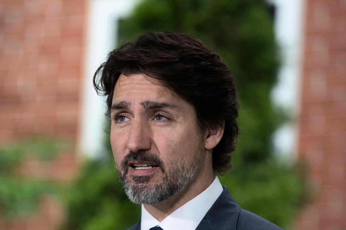 加拿大總理杜魯多在孟晚舟引渡案再開庭前夕接受美國媒體訪問時稱,不會迫於壓力而釋放孟晚舟。(Shutterstock)