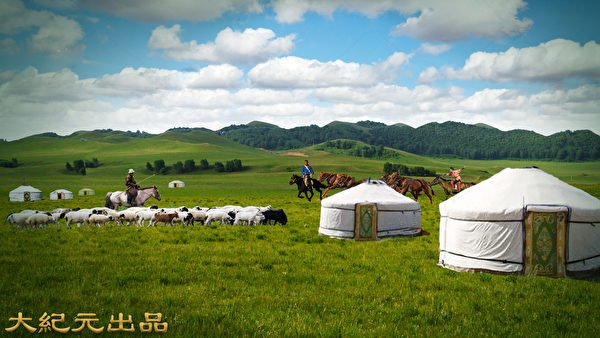著著名的「草原絲綢之路」起點就是在元上都。示意圖,圖為蒙古草原。(大紀元製圖)名的「草原絲綢之路」起點就是在元上都。示意圖,圖為蒙古草原。(大紀元製圖)