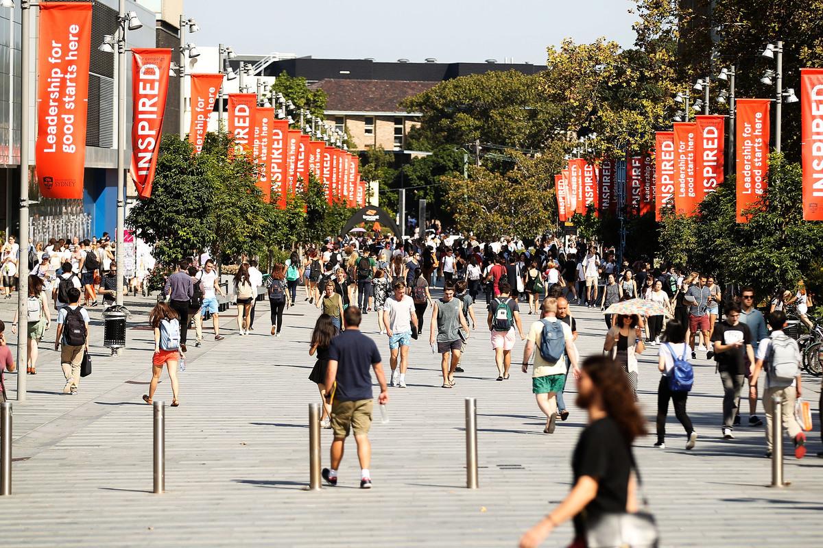 2021年2月24日,澳洲議會就《2020年高等教育支持修正案(言論自由)條例草案》進行了覆議。多位議員表示,修正案將為澳洲高校的言論及學術自由提供更有力的保護。圖為澳洲大學校園。(Brendon Thorne/Getty Images)
