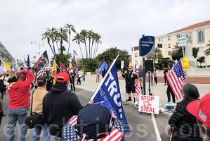 聖地牙哥集會挺特朗普 「只有他能阻中共滲透」