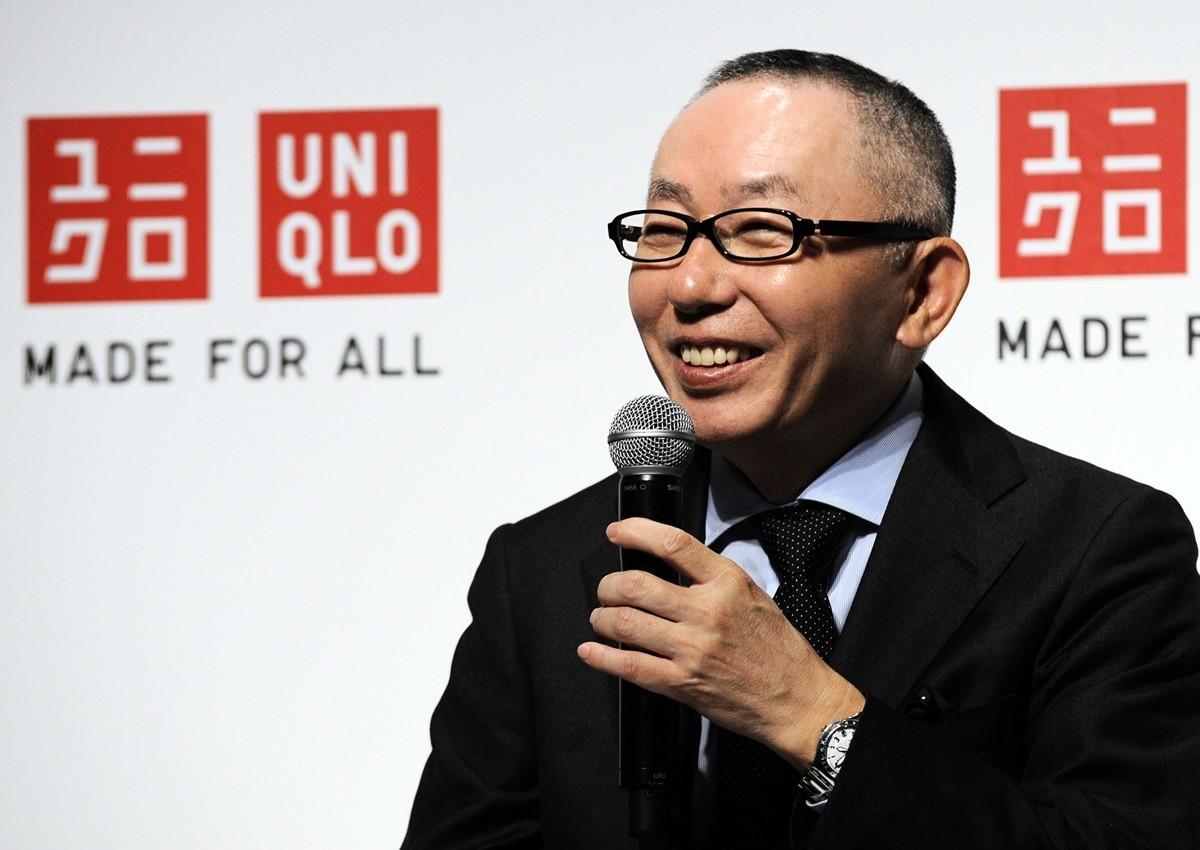 優衣庫創始人、日本首富柳井正(Tadashi Yanai)。(TOSHIFUMI KITAMURA/AFP)