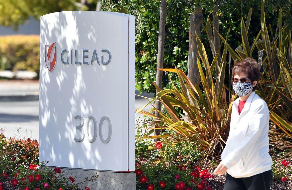 圖為位於美國加州的吉利德科技公司總部。(JOSH EDELSON/AFP via Getty Images)