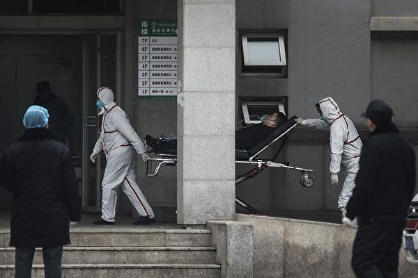 圖為武漢市金銀潭醫院。(Getty Images)