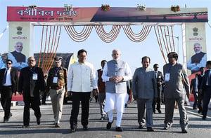 印度最長鐵公路橋開通 提高中印邊界防禦力