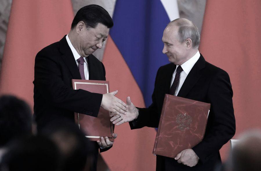 拜普會後 習近平連線普京宣佈中俄條約延期