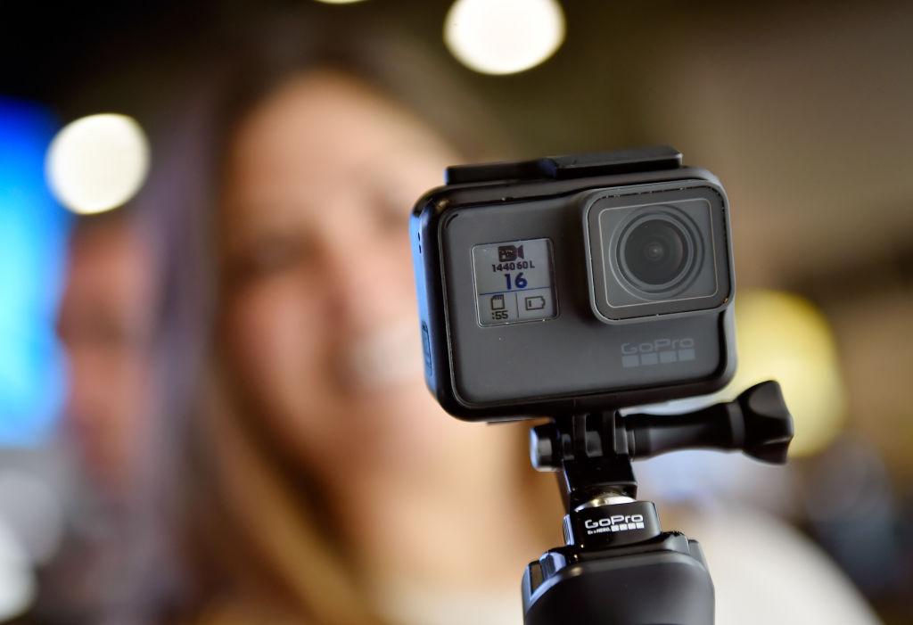 GoPro預計在2019年夏季,將輸往美國市場的產品生產線遷離中國。(David Becker/Getty Images)