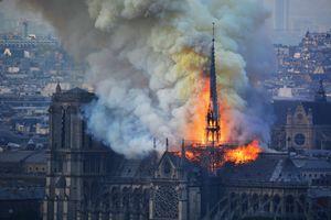 救火4小時 巴黎聖母院總框架保住了