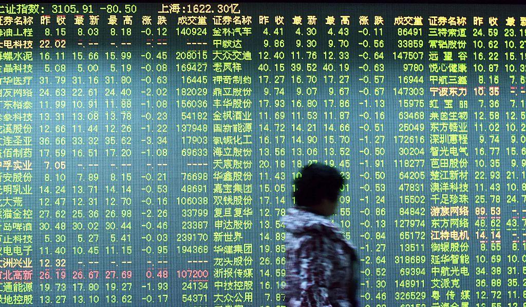 經濟學家對中國2019年第二季度的增長預測介於6.1%至6.4%之間,平均值為6.2%,是自1992年以來的最低增長紀錄。(STR/AFP/Getty Images)
